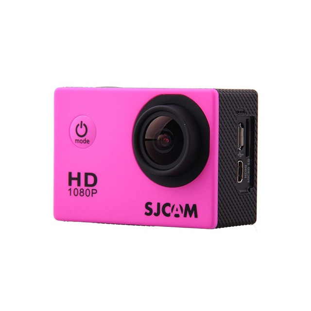 Камера SJCAM SJ4000 Full HD Action (цвет розовый).