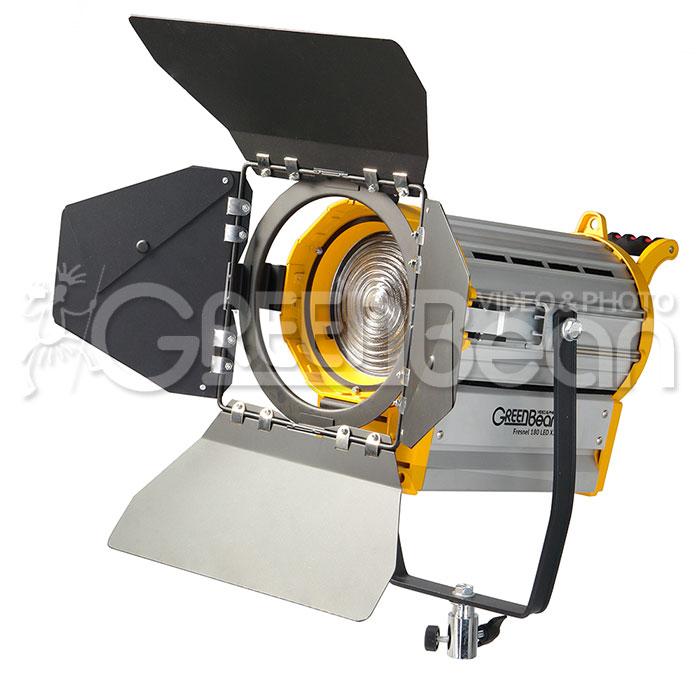 Осветитель светодиодный GreenBean Fresnel 180 LED X2