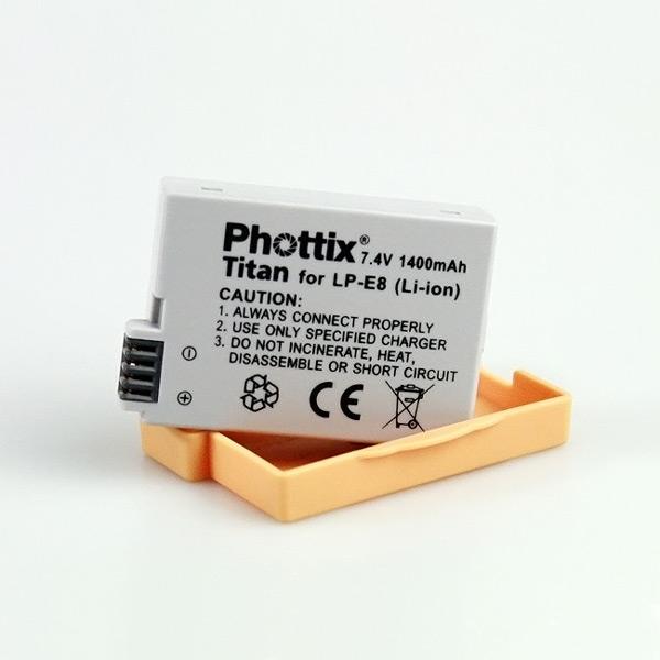 Аккумулятор Phottix TITAN LP-E8