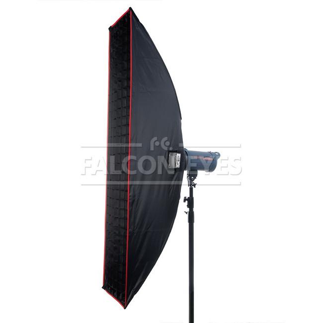 Софтбокс Falcon Eyes SBQ-30160 BW жаропрочный с сотовой насадкой, 30[160 см