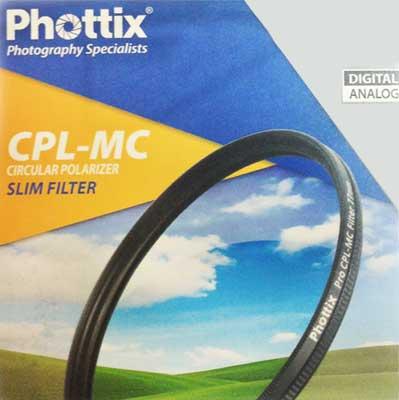 Фильтр поляризационный Phottix CPL-MC Slim 55 мм