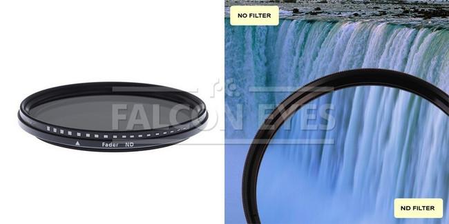 Нейтрально-серый фильтр переменной плотности MC-ND 72 mm