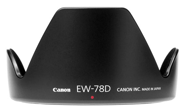 Бленда Canon EW-78D, EF-S 18-200 3.5-5.6 USM