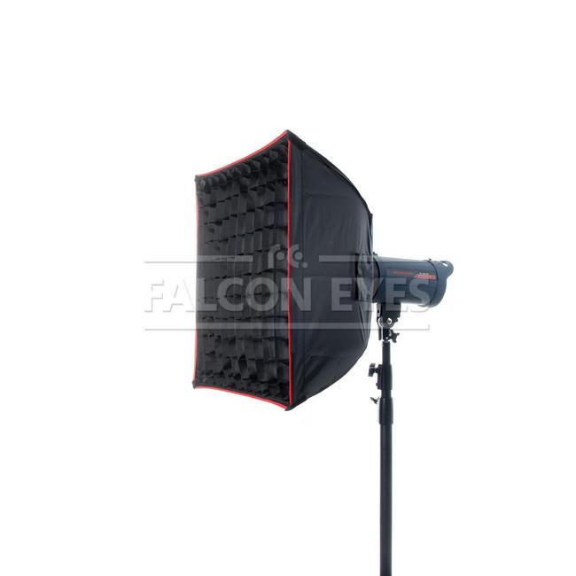 Софтбокс Falcon Eyes SBQ-6060 BW жаропрочный с сотовой насадкой, 60х60 см