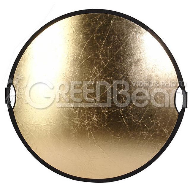 Отражатель GreenBean GB Flex 120 золотой / белый, диаметр 120 см