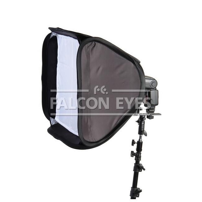 Софтбокс Falcon Eyes EB-060 60x60 см для накамерных вспышек