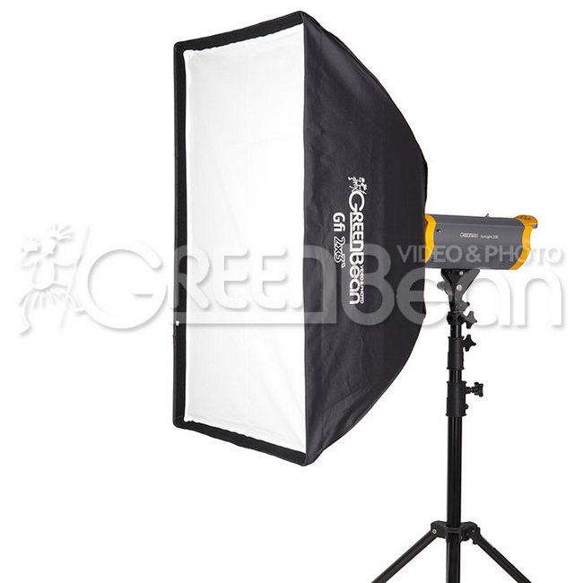 Софтбокс GreenBean GB Gfi 2x3`, 60 x 90 см