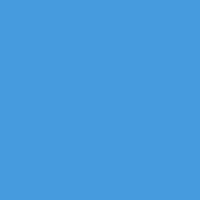 Фон бумажный Polaroid Light Blue Голубой, 2,72*11 м